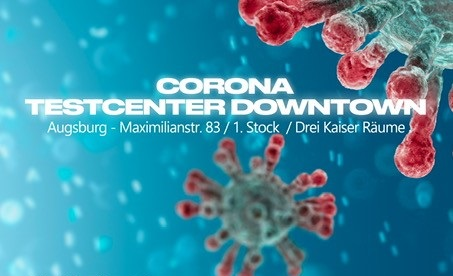 Testcenter Downtown Augsburg Maximilianstr. 83, 1.Stock Drei Kaiser Räume