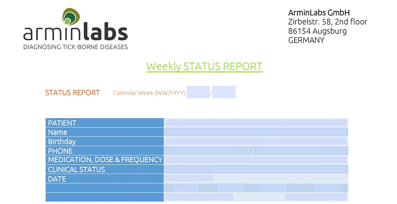 The Weekly Status Report from ArminLabs